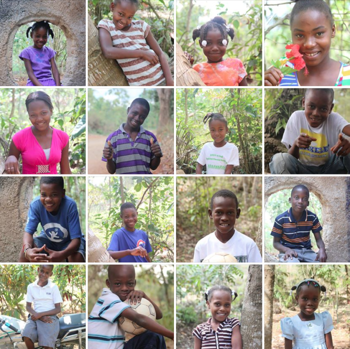 Just a few of the great kids involved in our child sponsorship program.
